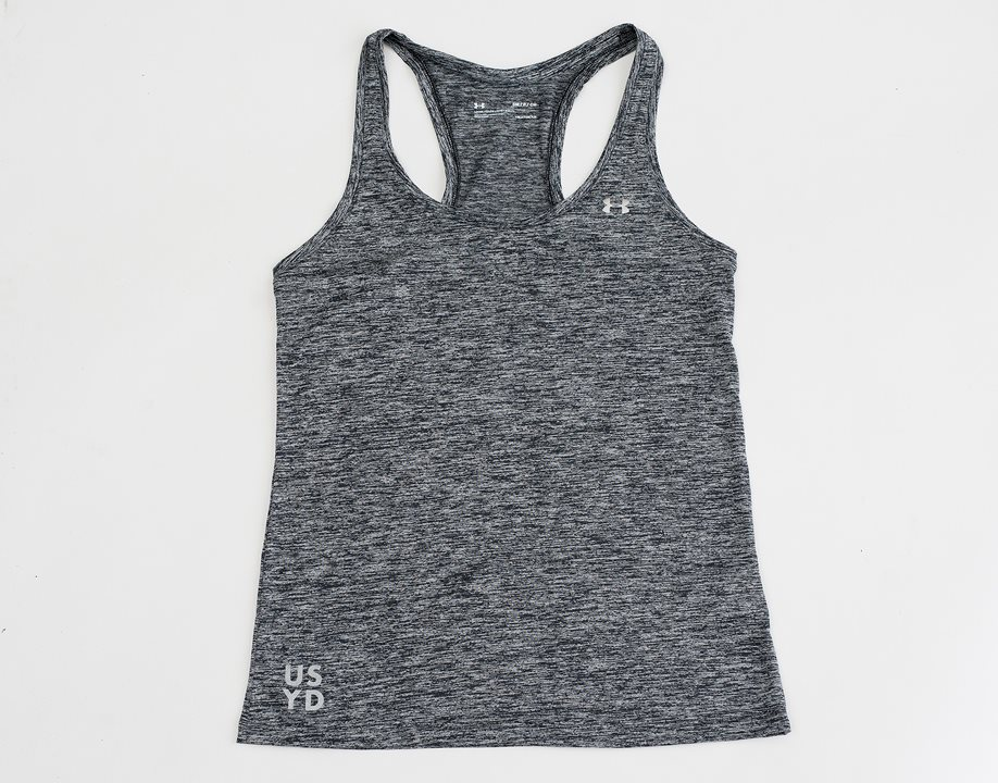 UA Ladies Tech Tank Twist - Black