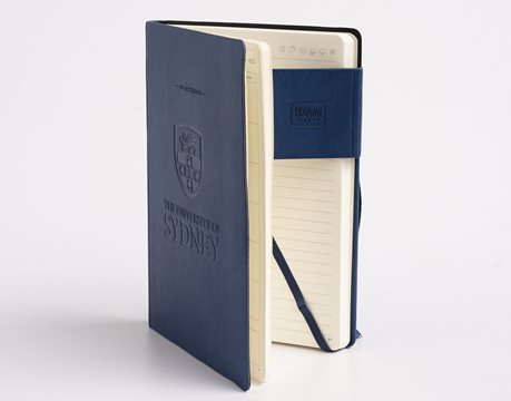 USyd Branded My Notebook Large - Blue