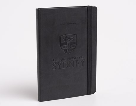 USyd Branded My Notebook Large - Black