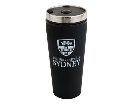 Soft Feel Travel Mug - Black