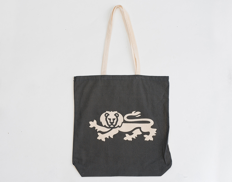 Calico Tote Bag - Lion