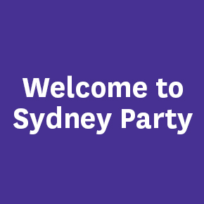 Welcome to Sydney Party