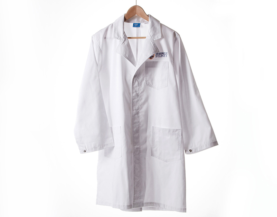 Crested Lab Coat 2XL