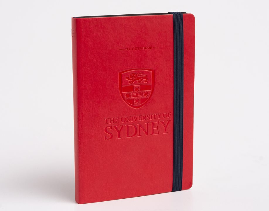 USyd Branded My Notebook Large - Red