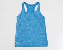 UA Ladies Tech Tank Twist - Blue